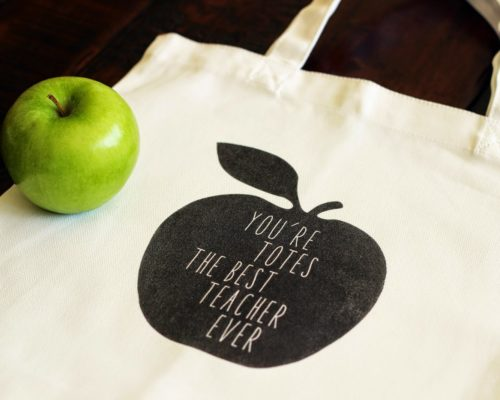 TEACHER'S TOTE BAG – FREE DOWNLOAD