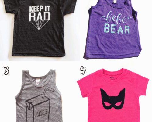 SPRING FASHION WEEK: GRAPHIC T'S FOR LITTLES
