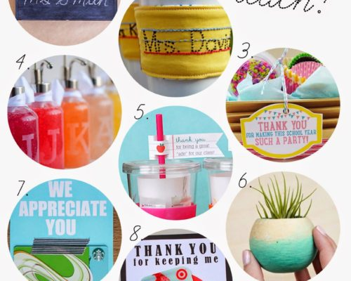 TEACHER GIFTS ROUNDUP