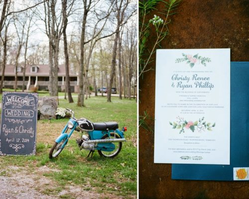RYAN AND CHRISTY'S RUSTIC WEDDING