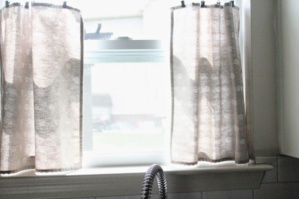 No Sew Diy Cafe Curtains