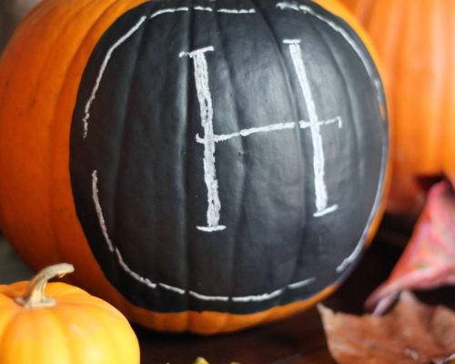 SIMPLE PUMPKIN DECOR DIY