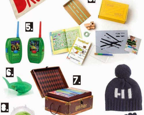 HOLIDAY GIFT GUIDE FOR THE BOYS