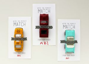 MATCHBOX CARS VALENTINES (FREE PRINTABLE)