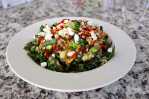 MY DAILY DINNER – KALE QUINOA SALAD