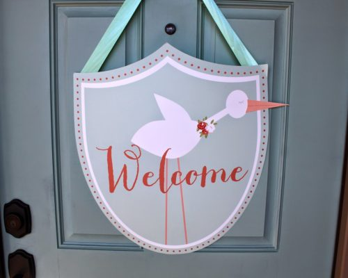 YOU'RE INVITED…. STORK THEMED TEA PARTY BABY SHOWER