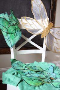 DIY FAIRY COSTUME + EDUCATIONAL ART PROJECT