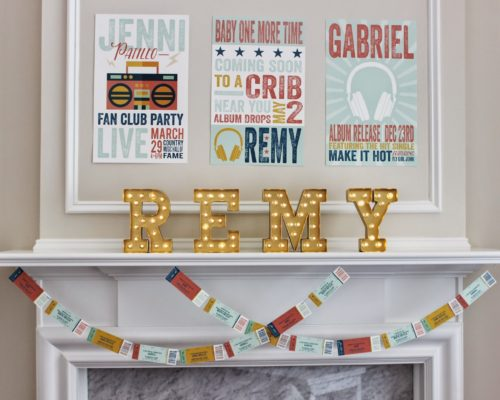 JENNI'S CONCERT THEMED SHOWER