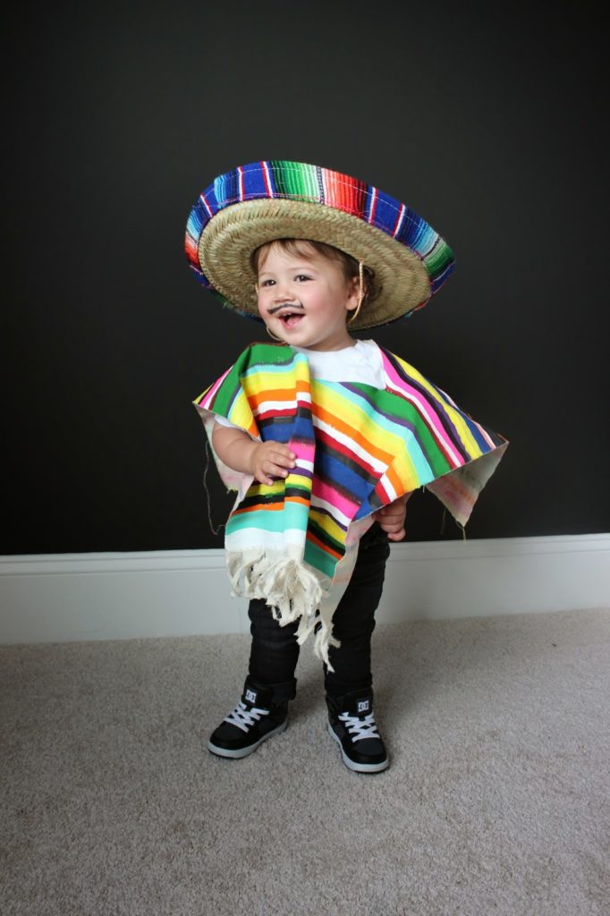 Diy Costume For Littles Mexican Serape