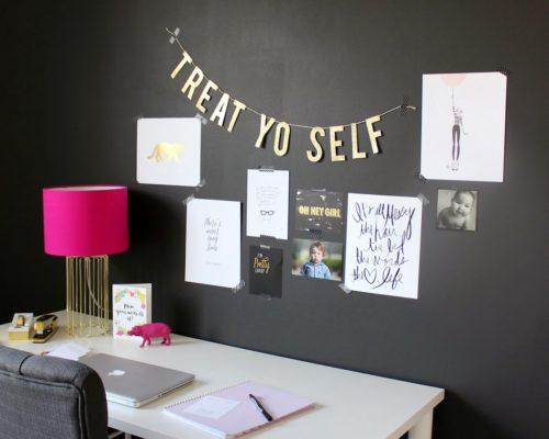 MY OFFICE (SO FAR) + FREE PRINTABLE