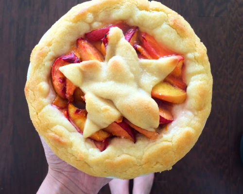 RECIPE: MINI PEACH PIE