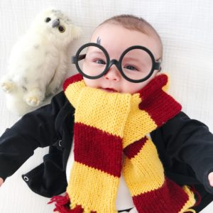 DIY BABY HARRY POTTER COSTUME