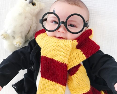 DIY BABY HARRY POTTER COSTUME