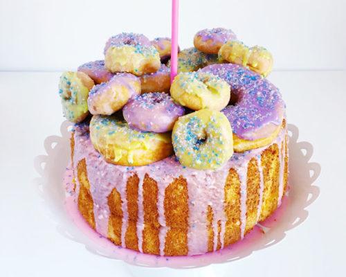 RECIPE: DONUT CAKE