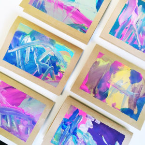 TURN YOUR KID'S ARTWORK INTO ART