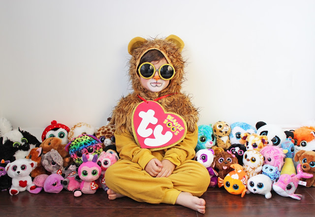 diy halloween costume for littles beanie boo