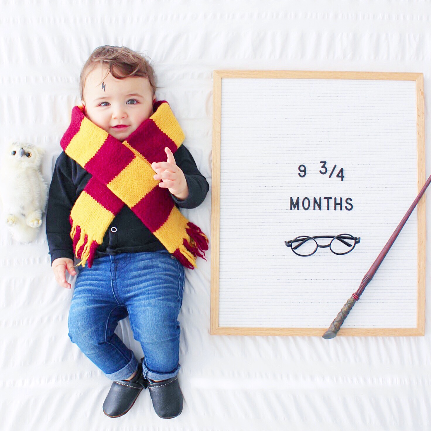 DIY Infant Harry Potter Costume by Love & Lion