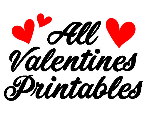 All Valentine's Day Printables