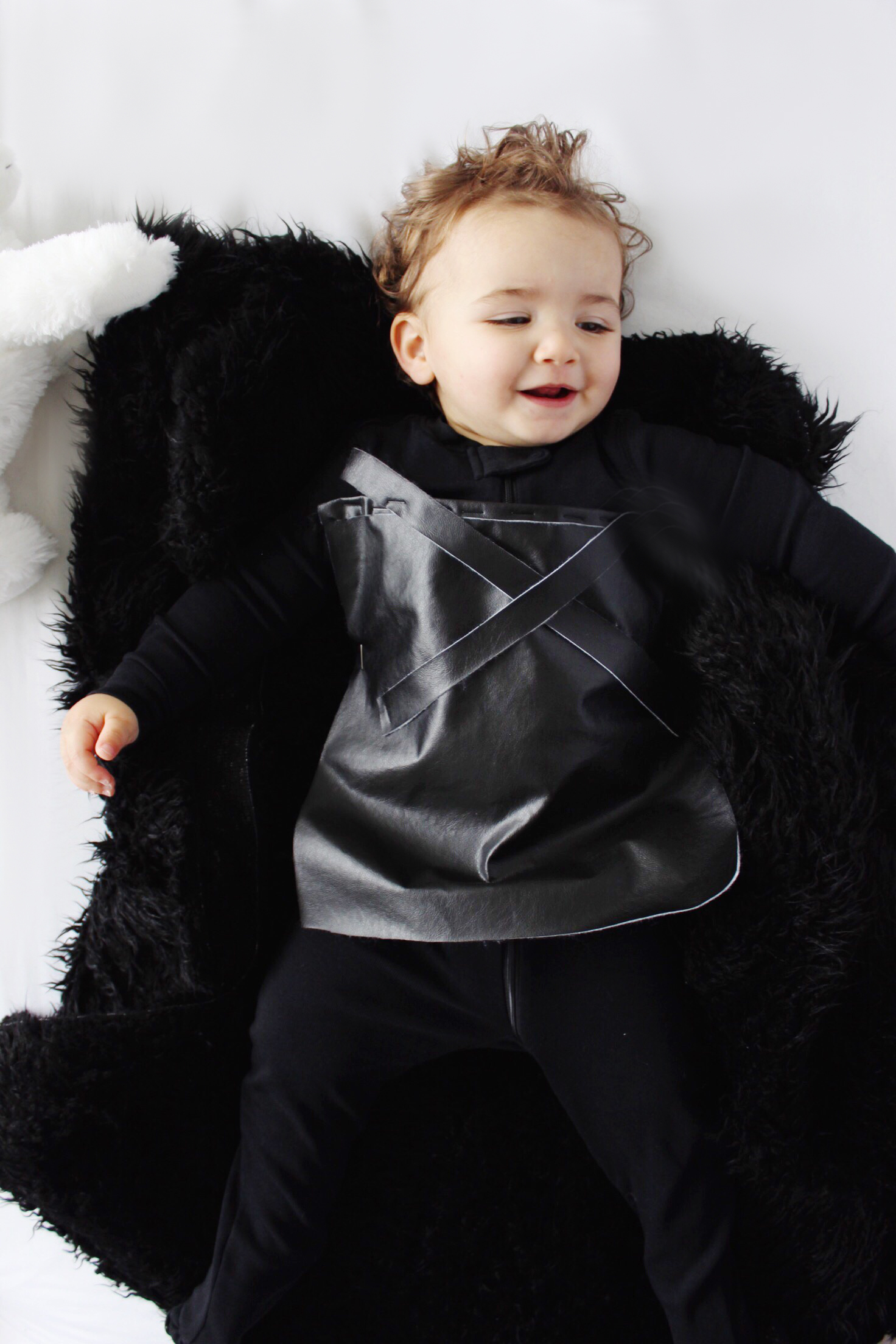 Diy Halloween Costume Baby Jon Snow