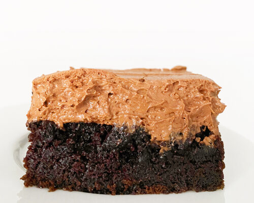 THE BEST CHOCOLATE CAKE + 3 FROSTING RECIPES