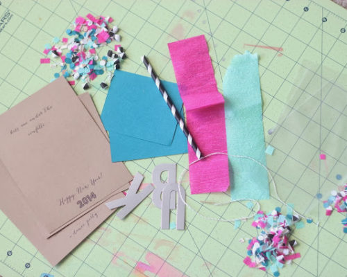 DIY CONFETTI PACK AND THE PERFECT PARTY FAVOR!