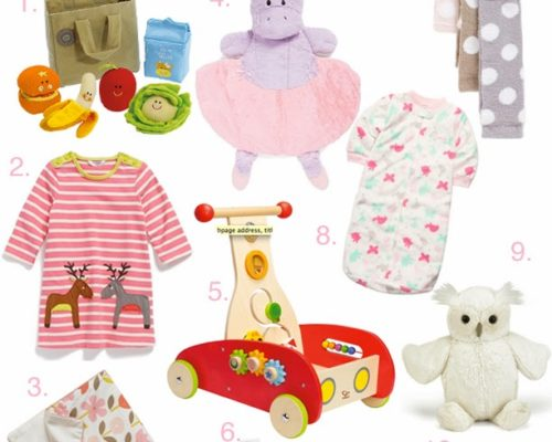 HOLIDAY GIFT GUIDE SERIES (FOR BABY GIRLS)