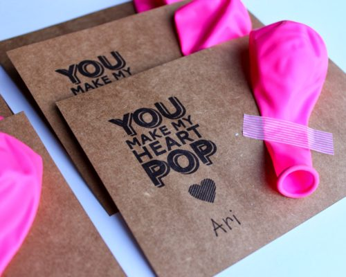BALLOON VALENTINES FOR KIDS (FREE PRINTABLE)