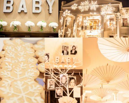 WINTER WHITE BABY SHOWER FOR LAUREN