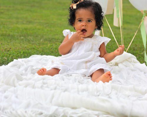 AMARA'S FIRST BIRTHDAY