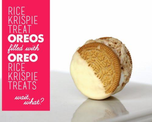 NEXT LEVEL OREO RICE KRISPIE TREAT COOKIES