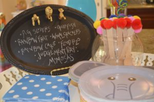 FEATURED PARTY: NOAH'S ARK 2 X 2 BIRTHDAY PARTY
