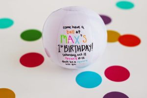 MAX'S 1ST BIRTHDAY – ROUND PARTY!