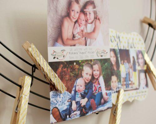 DIY HOLIDAY CARDS DISPLAY