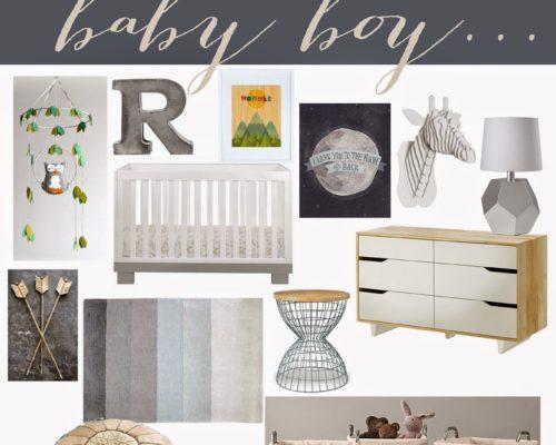 BABY BOY NURSERY + VALENTINE GIVEAWAY (GIVEAWAY CLOSED)