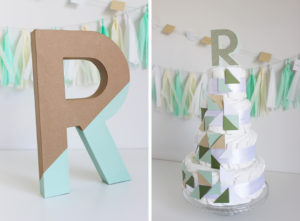 MODERN MINT & NEUTRAL BABY SHOWER