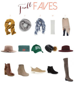 FALL FASHION FAVES