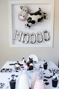 MAX'S COW PARTY!