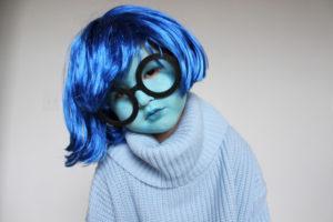 DIY HALLOWEEN COSTUME FOR LITTLES – SADNESS