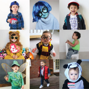 ALL DIY HALLOWEEN COSTUMES FOR LITTLES!