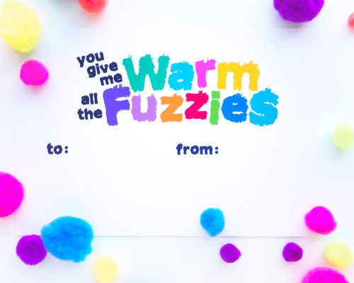 WARM FUZZIES VALENTINE